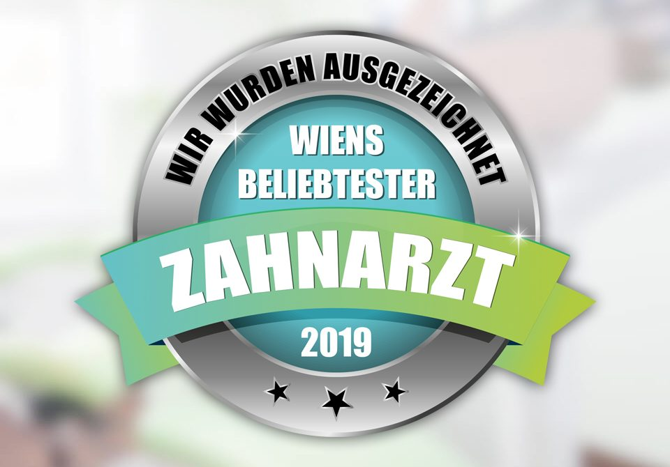 """Auszeichnung """"Bester Zahnarzt 2019"""""""