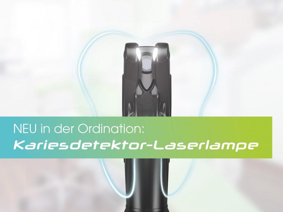 Foto einer Kariesdetektor-Laserlampe